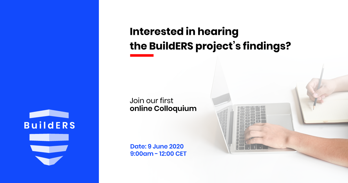 Interested in hearing the H2020 BuildERS project's findings and discussing over a Gotomeeting? Join us!!