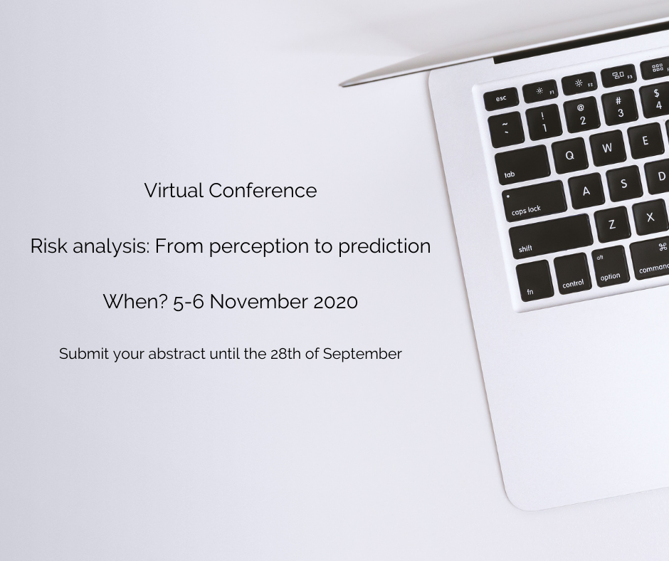 Online Conference: Risk Analysis: From perception to prediction